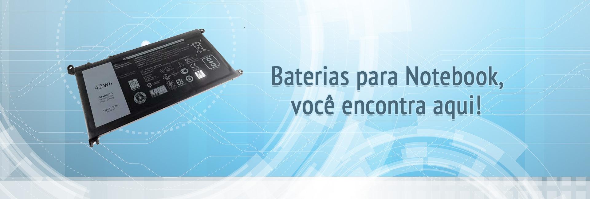 Baterias para notebooks
