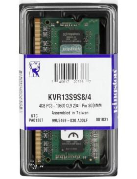 MERMORIA 4GB DDR3 PC1333Mhz (10600) -KVR13S9S8/4
